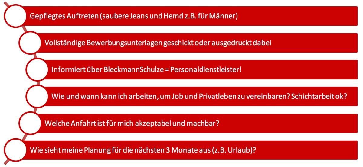 Meine Tipps für ein Vorstellungsgespräch bei BleckmannSchulze in Köln
