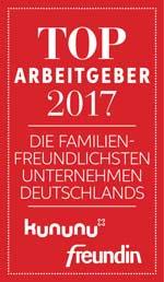 Siegel Deutschlands-familienfreundlichste-Unternehmen