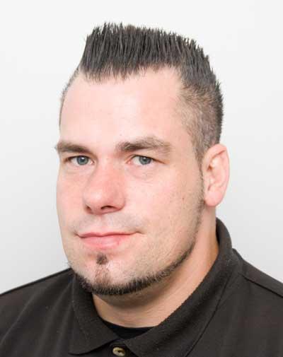 Denis Lothmann, Staplerfahrer bei BleckmannSchulze in Köln